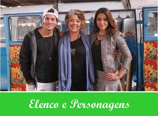 Elenco Personagens Dona Xepa