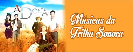 Músicas Trilha Sonora A Dona