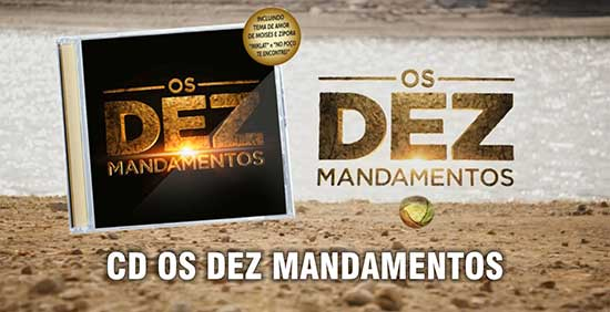 CD Os Dez Mandamentos
