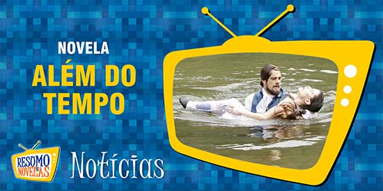 Felipe salva Lívia afogamento