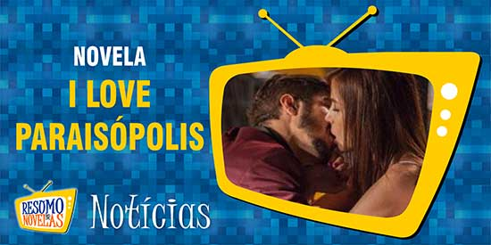 Margot Grego Beijo I Love Paraisópolis