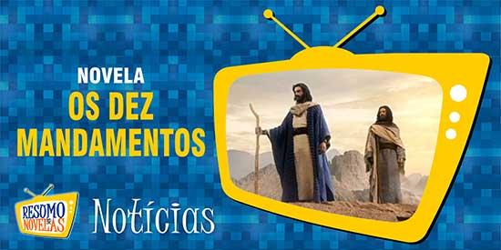Moisés praga chuva Os Dez Mandamentos