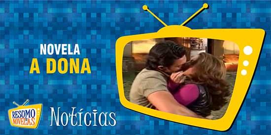José Miguel Valentina se beijam A Dona