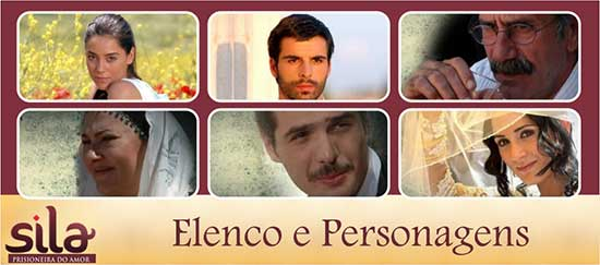 Elenco Personagens Novela Sila Band