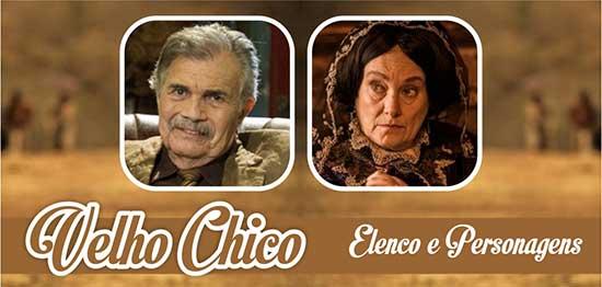 Velho Chico Elenco Personagens