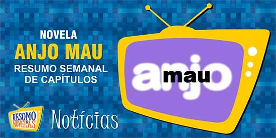 Capítulos Novela Anjo Mau