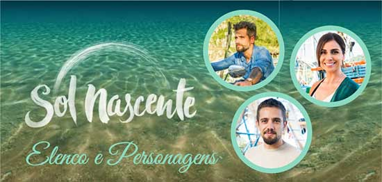 Novela Sol Nascente Personagens
