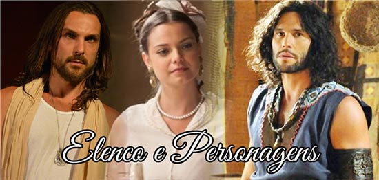 O Rico e o Lázaro Elenco Personagens