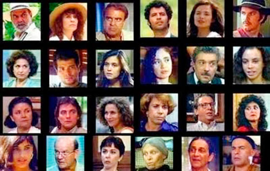 Personagens Elenco Pedra Sobre Pedra