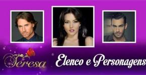Elenco Personagens Teresa