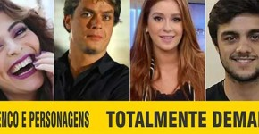 Elenco Personagens Totalmente Demais