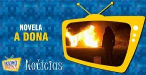 Valentina fogo cabana A Dona