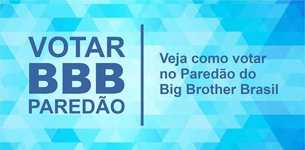 Votar Paredão BBB20