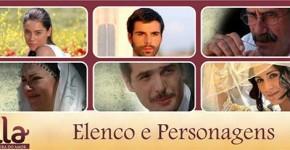 Elenco Personagens Novela Sila Band