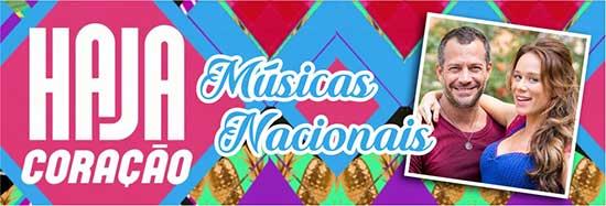 Haja Coração Músicas Nacionais