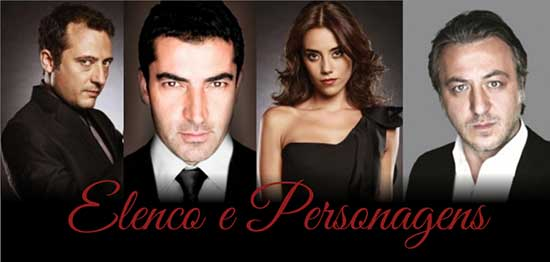 Novela Ezel Elenco Personagens