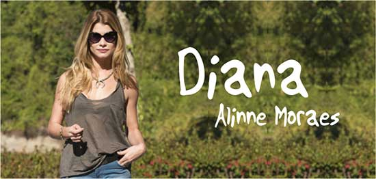 Diana Rock Story Alinne Moraes