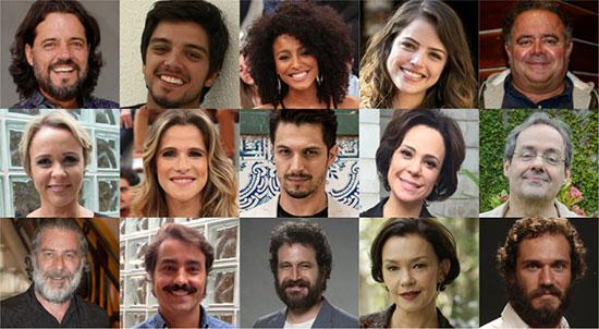 Personagens Elenco Novo Mundo