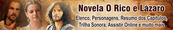 Novela O Rico e Lázaro Record