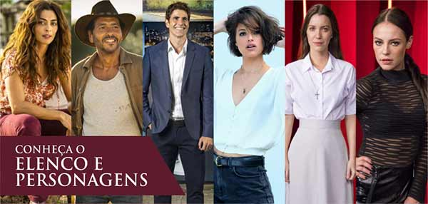 Elenco Personagens A Dona do Pedaço