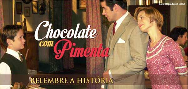 Resumo Chocolate com Pimenta História