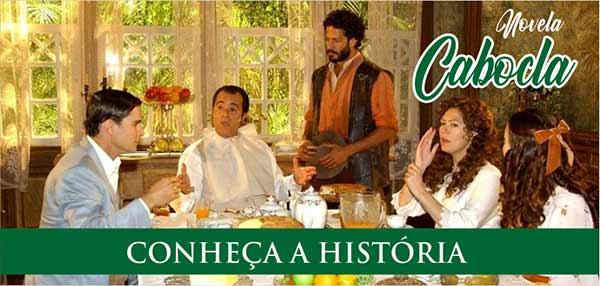 Novela Cabocla Enredo e História