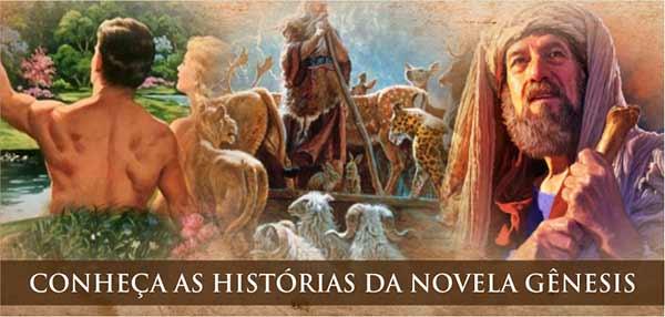 História Enredo Novela Gênesis
