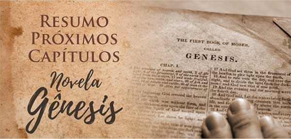 Próximos Capítulos Novela Gênesis