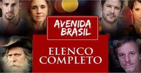 Elenco Novela Avenida Brasil Completo Antes Depois