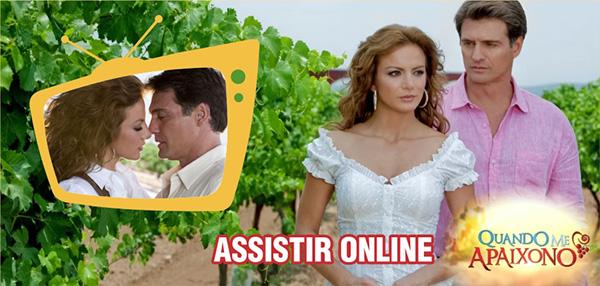 Assistir novela Quando Me Apaixono Online Ao Vivo SBT