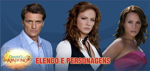Elenco Personagens novela Quando Me Apaixono SBT