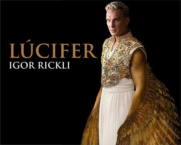 Personagem Lúcifer Gênesis Igor Rickli