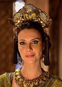 Personagem Nadi de Gênesis (Camila Rodrigues)