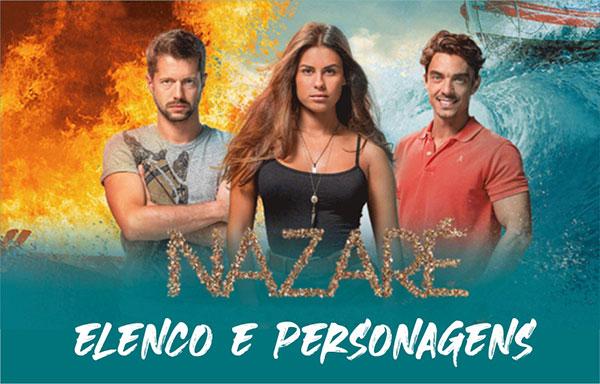 Elenco Personagens Novela Nazaré Band