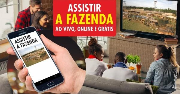 Assistir A Fazenda 13 ao vivo online e grátis 24 horas